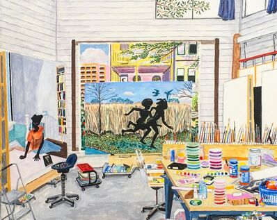 Damian Elwes, 'Kerry James Marshall's Studio (Chicago, 2003)', 2019
