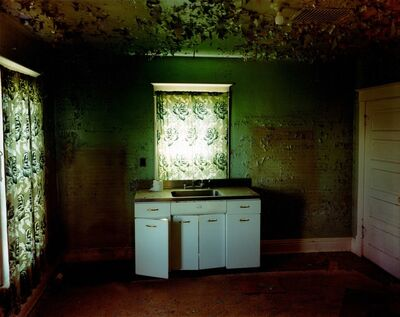 Steve Fitch, 'Kitchen In A House in Carlyle, Eastern Montana, June 8', 2000