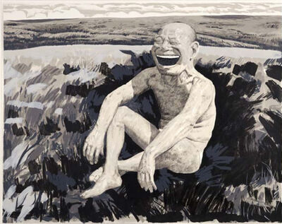 Yue Minjun, 'The Grassland Series Screenprint 1 ', 2008