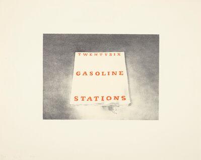 Ed Ruscha, 'Twentysix Gasoline Stations, from Book Covers', 1970