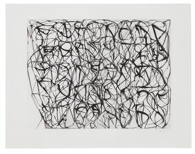 Brice Marden, 'Cold Mountain Series, Zen Studies 1-6: Plate 4', 1991
