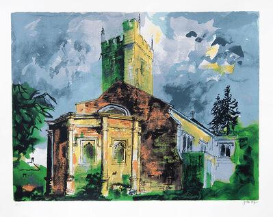 John Piper, 'Sunningwell, Oxfordshire', 1985