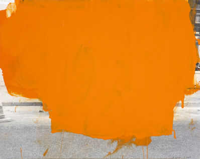 John Beech, 'Coated Drawing #49 (orange)', 2005