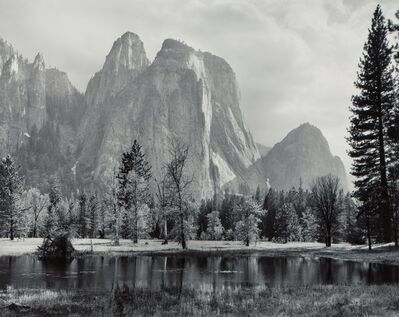Ansel Adams, 'Cathedral Spires and Rocks, Late Afternoon, Yosemite National Park, California', circa 1948