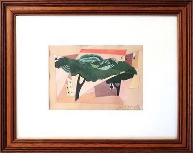 Leopold Survage, 'L'arbre dans la ville', 1920