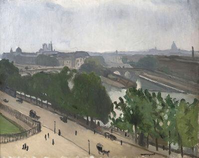 Albert Marquet, 'Vue de Paris avec Notre-Dame et le Vert-Galant', ca. 1909