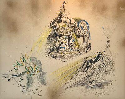 Salvador Dalí, 'Reine, Poet, Lecture'