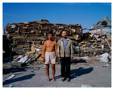 Cang Xin 苍鑫, 'Identity Exchange Series, Scrap Collector', 2000
