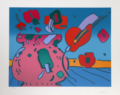 Peter Max, 'Marilyn's Flowers', 1979