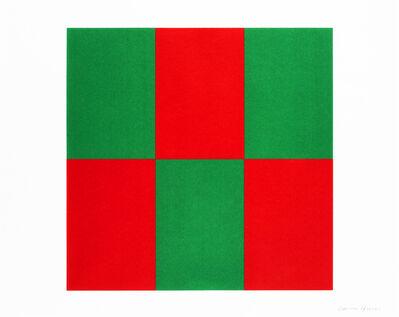 Carmen Herrera, 'Verde y Rojo (Green & Red)', 2019