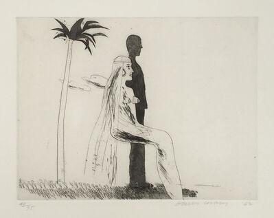 David Hockney, 'The Marriage', 1962