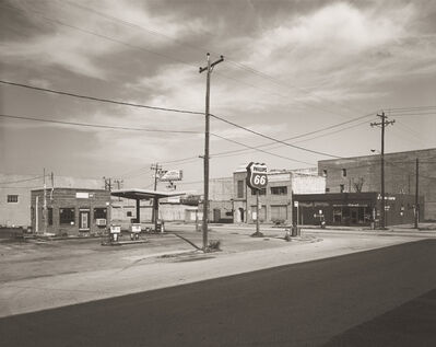 E.F. Kitchen, 'Phillips 66 Station', 1986