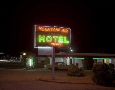 Steve Fitch, 'Mountain Air Motel, Benson, Arizona, December 3, 1980', 1980