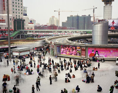 Martin Roemers, 'North Square of Beijing West Railway Station Fengtai District, Beijing, China', 2010