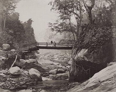 Samuel Bourne, 'Darjeeling Bridge ', 1869