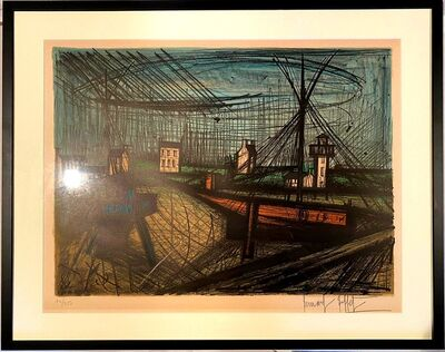 Bernard Buffet, 'Le port', 1969
