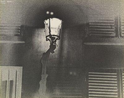 Ilse Bing, 'Lamppost, rue de la chaise, Paris', 1934
