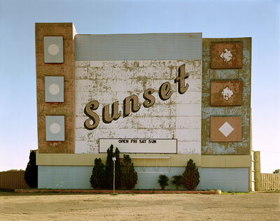 Stephen Shore, 'West 9th Avenue, Amarillo, Texas, October 2, 1974', 1974