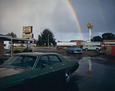 Stephen Shore, 'Horseshoe Bend Motel, Lovell, Wyoming, 1973'