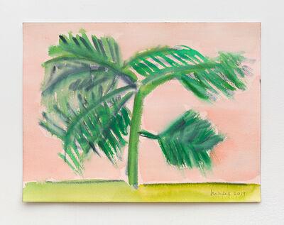 Elizabeth Enders, 'Green Tree - Pink Sky I', 2019