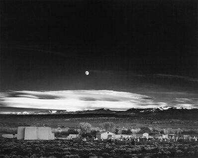 Ansel Adams, 'Moonrise, Hernandez, NM, 1941', 1941
