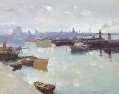 Vahe Yeremyan, 'Factory Harbor', 2020