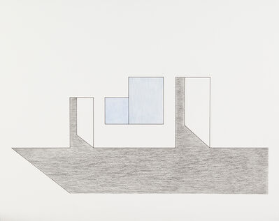Elvire Bonduelle, 'Dessin à la règle', 2014