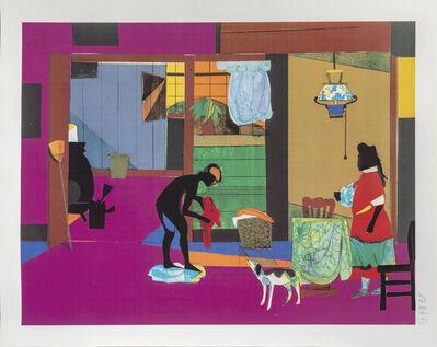 Romare Bearden, 'Mecklenburg Morning', 1993