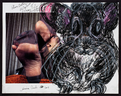 Simone Gad, 'Chinchilla Noir/Elmer Batters Hommage', 2019
