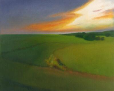 Douglass Freed, 'Green Field Sunset', 2015