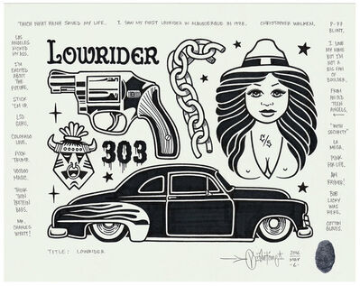 Mike Giant, 'Lowrider', 2016