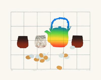 Liao Shiou-Ping, 'A Cup of Tea', 1984