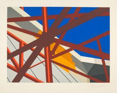 Allan D'Arcangelo, 'Web', 1979