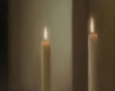 Gerhard Richter, 'Two Candles', 1982