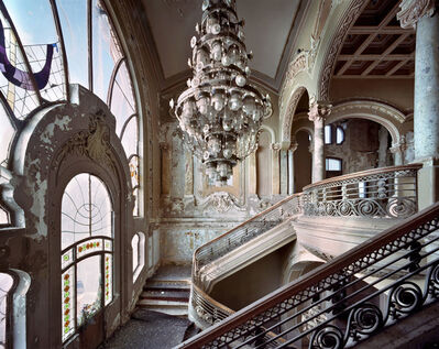 Yves Marchand & Romain Meffre, 'Grand staircase, Casino, Constanta, 2018', 2019