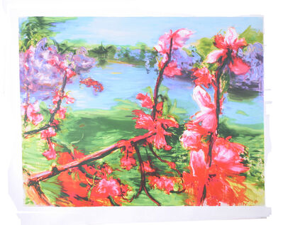 Zhou Chunya, 'Peach Blossom', 2006