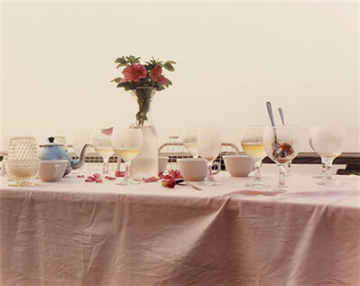 Joel Meyerowitz, 'Dinner Table, Provincetown, Massachusetts', 1983