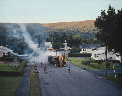 Gregory Crewdson, 'Untitled (Overturned Bus)', 2001-2002