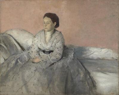 Edgar Degas, 'Madame René de Gas', 1872/1873