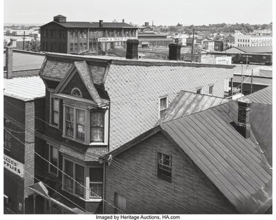George Tice, 'Untitled (Rooftops)', 1969