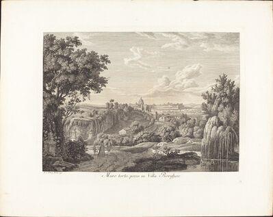 Albert Christoph Dies, 'Muro torto, preso in villa Borghese', 1792
