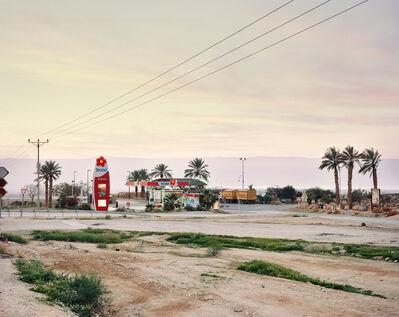 Yaakov Israel, 'petrol station, the judean desert', 2011