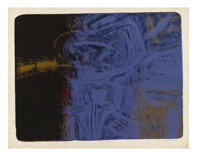 George Miyasaki, 'Blue Serene', 1956