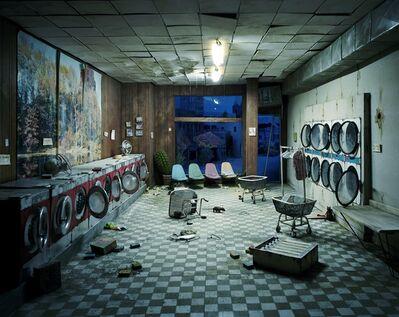 Lori Nix and Kathleen Gerber, 'Laundromat at Night', 2008