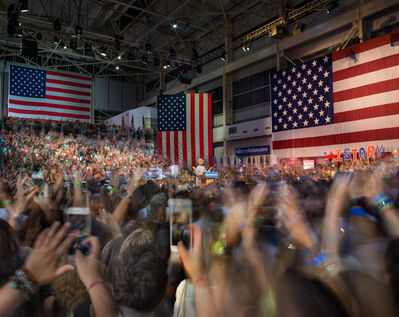 Matthew Pillsbury, 'Hillary Clinton Becomes the Presumptive Democratic Nominee for the President of the United States, Brooklyn Navy Yard, Tuesday, June 7th (TV16051)', 2016