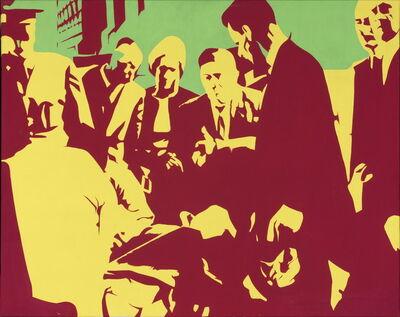 Bernard Rancillac, 'Fin tragique d'un apotre de l'Apartheid, 1966', 1966