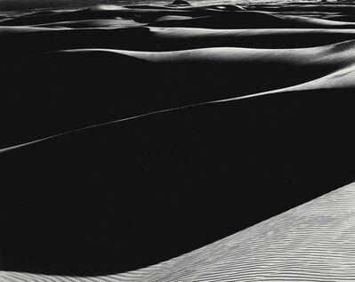 Edward Weston, 'Dunes, Oceano (Cole Print)', 1936