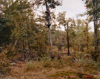 Sage Sohier, 'Father and daughter in camouflage, Gilmanton, NH', 2004