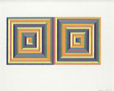 Frank Stella, 'Fortin de las Flores (First Version)', 1967