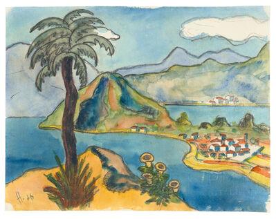 Hermann Hesse, 'Landschaft im Tessin', 1926